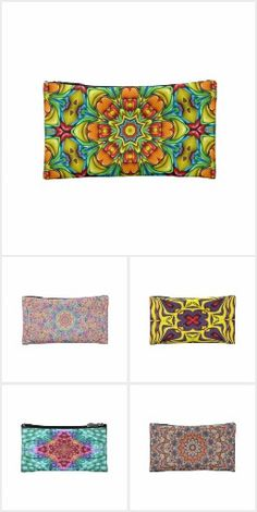 Wristlets - Clutches - Cosmetic Bags
