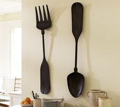 Images About Fork And Spoon Wall Art Pinterest