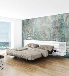 Panoramic wallpaper ROMANTIC Concrete Collection by N.O.W. Edizioni