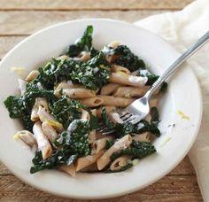 Penne w/ Ricotta Cheese & Kale