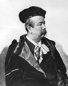CHARLES FREDERICK WORTH, British Designer (1826-1895). Widely considered the Father of Haute couture, whose works were produced in Paris in the 19th century.