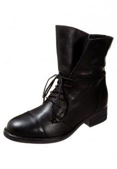 Zign - Snørestøvletter - black