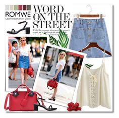 """""""ROMWE"""" by zalarupar ❤ liked on Polyvore"""