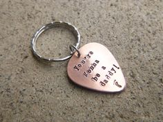 New Daddy Keychain Baby Reveal New Dad Surprise New by hjvdesigns