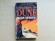 Dune series book three.  #scifi #sciencefiction #book #books #novel #reading #sf #bookstagram #bookshelf #instabooks #currentlyreading #usedbooks #vintage #opus100 #dune #frankherbert #frankherbertsdune by opusonehundred