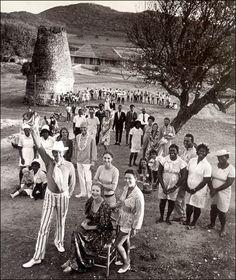 Princess Margaret at Cotton House, Mustique (1970)