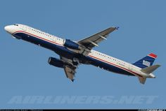 US Airways N523UW Airbus A321-231 aircraft picture