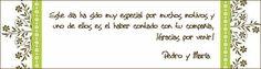Enviar las tarjetas de agradecimiento a los invitados de tu boda