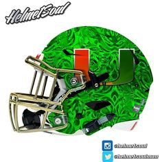 "My new favorite. The Miami Hurricane ""Green Storm"""