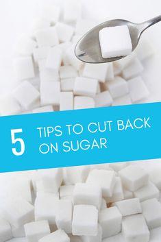 5 Expert Tips for Cutting Back on Sugar Stop Sugar Cravings, Low Sugar Diet, Sugar Intake, Something Sweet, Lifestyle, Tips, Counseling