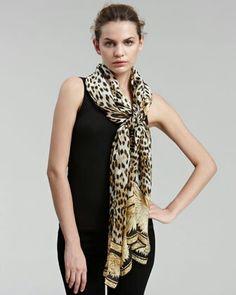 Nice scarf...