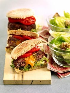 Cheddar-Stuffed Burgers Weight Watchers Recipes