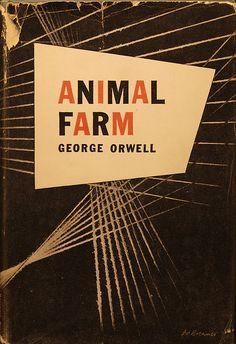 "George Orwell ""Animal Farm"" book cover"