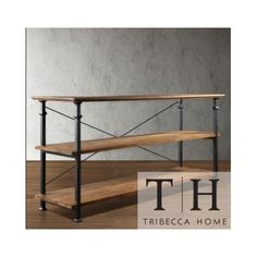 Tribecca Home Industrial Tv Stand. This Stylish Furniture Is the Perfect Addition to Any Room in Your House. Use It As an Entertainment Center or to Store Books, Magazines, and More. Myra http://www.amazon.com/dp/B00IGF31TS/ref=cm_sw_r_pi_dp_NK-Wub1RXSCJJ