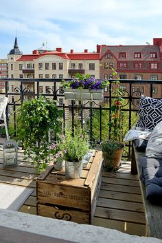 idée futur balcon / terrasse