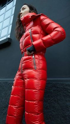 Winter Suit, Winter Gear, Snow Fashion, Winter Fashion, Hot Outfits, Winter Outfits, Down Suit, Overalls Outfit, Womens Wetsuit