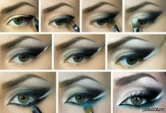 night make up