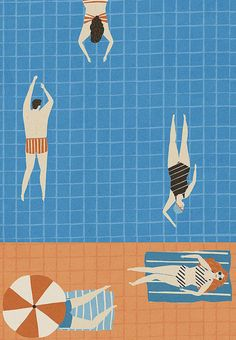 Swimming Pool by Naomi Wilkinson
