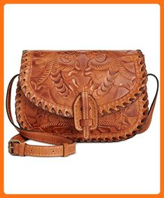 Patricia Nash Nardini Saddle Bag, Gold - Crossbody bags (*Amazon Partner-Link)