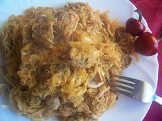 Ilcsi konyha: Toros káposzta sok husival Macaroni And Cheese, Cabbage, Grains, Rice, Chicken, Vegetables, Ethnic Recipes, Food, Mac Cheese