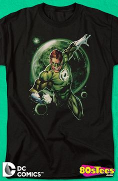 Dc Green Lantern Guardians Premium Adult Slim Fit T-Shirt