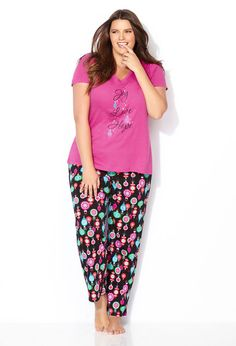 Pajamas make a great gift for any lady in your life!