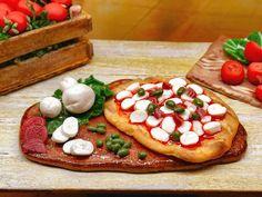1:12 Pizza Italia casa delle bambole Pomodoro di PiccoliSpazi