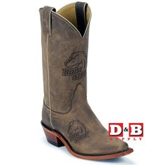 BSU College Boots $199.99 @Teresa Barnett! Lol! I saw a small pic on my phone and thought these were cute, then I saw the logo! Hahaha