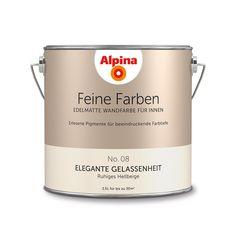 Alpina Feine Farben No. 08 – Elegante Gelassenheit. #Design #DIY #Farbe…