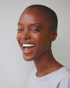 - MADISIN (@madisinrian) on Instagram: by @eyeofscottie || smile. Short hair. Black girls. Black Women. Brown skin. Natural beauty.