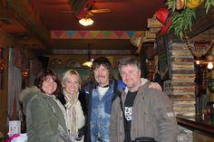 Linda , Helen Paul and Dave... T-Rex tour 2011
