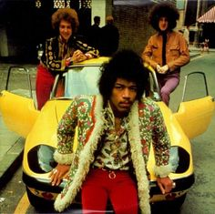 The James Marshall Hendrix Experience and a proper Lotus Elan.