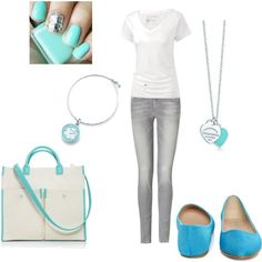 """Tiffany's"" by mcdowelln on Polyvore"