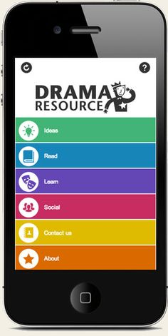 The free Drama Resource app brings you drama games, techniques, strategies, lesson plans, videos, reviews and resources where and when you need them. The app includes all the best articles and latest news from www.dramaresource.com.