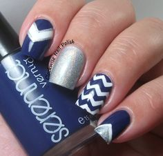 The Clockwise Nail Polish: Claire's Dork & Serenna SE053 & Geometrical Nail Art