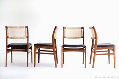 Sylve Stenquist Dining Chairs for DUX For Sale at 1stdibs
