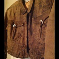 Western Style Moto Leather Jacket