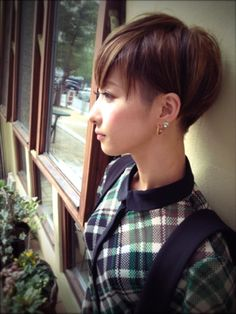 Short Hair Cuts, Short Hair Styles, Cortes Bob, Edgy Hair, Pixie, Hair Beauty, Hairstyle, Female, Lady