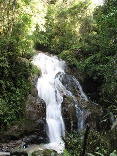 Robinson Waterfall, Cameron Highlands,Maleisie