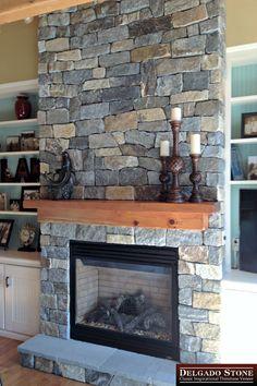 33 best stone fireplaces images natural stone veneer thin stone rh pinterest com