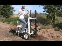 E-Z Ryder Earth Drill Demo - YouTube