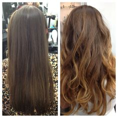 Virgin hair to ombre hair! Best decision I have ever made. #hair #virginhair #brunette #ombre