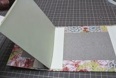 Mini albums are my current passion. I love anything to do with books and paper, so being able to MAKE my own books is perfect. This mini I. Photo Album Scrapbooking, Mini Scrapbook Albums, Handmade Journals, Handmade Books, Diy Mini Album Tutorial, Chicken Scratch Embroidery, Bookbinding Tutorial, Album Book, Mini Books