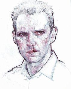 More testing #RedDragon #ralphfiennes #Hannibal #killer #crazy #psycho #art #fanart #draw #portrait #comic #drawingoftheday #sketch #sketching #drawing #pencils #pendrawing #traditionalart #insta #instaart #instagram #instagood #instamood by subversivegirl