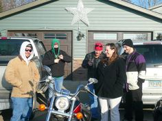 With Lee Harris, Lindsey Ponsford, Clint Harris and Stacy Lif and Travis.  December 11, 2011