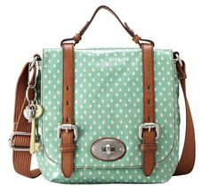 c9505f24d2da Fossil  ) mint and spots. Cute! My Bags