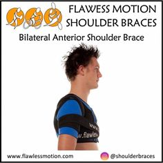 Bilateral Anterior Shoulder Brace info: Part 2  Excessive and sudden arm movements are restricted by the elastic fabric restraints, which slow limb motions and thereby allow muscles time to respond while preventing dislocation. This resistance can be utilised to help strengthen shoulders by having the arms push carefully against the stretch fabric. 👇 Buy online at www.flawlessmotion.com  #shoulderrecovery #shoulderrehab #shoulderstrapping #shouldersurgery  #frozenshoulders  #rotatorcuff Shoulder Rehab, Shoulder Brace, Shoulder Surgery, Strengthen Shoulders, Shoulder Injuries, Rotator Cuff, Injury Prevention, Nice Body, Braces
