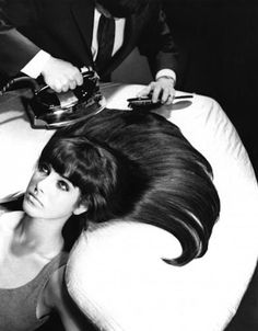 # 16. GETTING YOUR HAIR IRONED AT THE BEAUTY SALON = From 25 Things you'll never experience again...