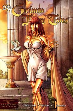 Cover for Grimm Fairy Tales (Zenescope Entertainment, July  2008) #29 [Cover A - Rich Bonk]