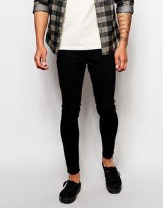 image 1 of asos extreme super skinny jeans in light grey. Black Bedroom Furniture Sets. Home Design Ideas